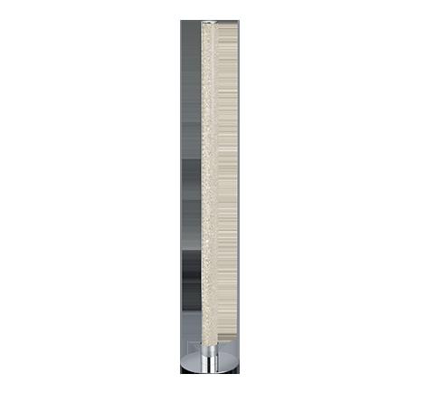 lampadaire led transparent couleur variable