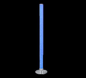 lampadaire led transparent couleur variable bleu