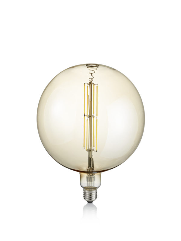 Ampoule E27 LED, 8W · 560lm, 2700K GLOBE