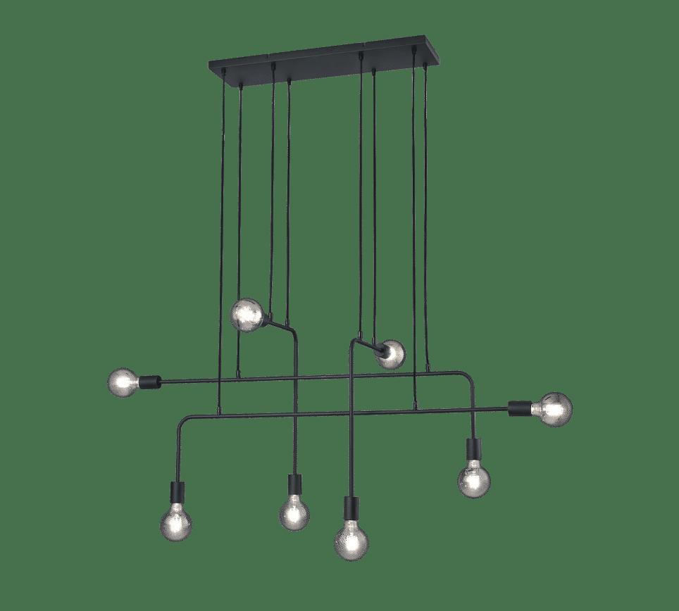 Suspension design moderne noir CONNOR
