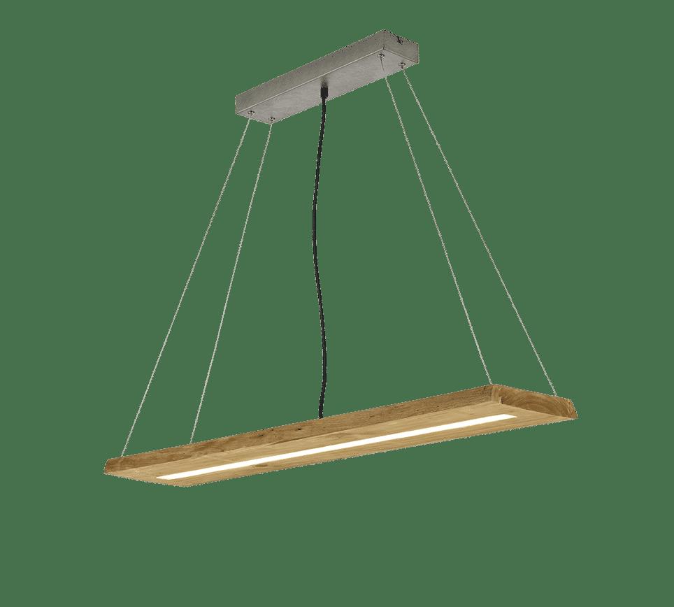 Suspension bois SMD LED, 27W · 1x 3000lm, 3000K