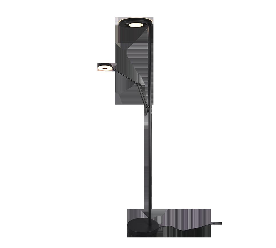 Lampadaire SMD LED, 32W & 6W · 1x 4000lm,1x 600lm, 2700 + 4000K