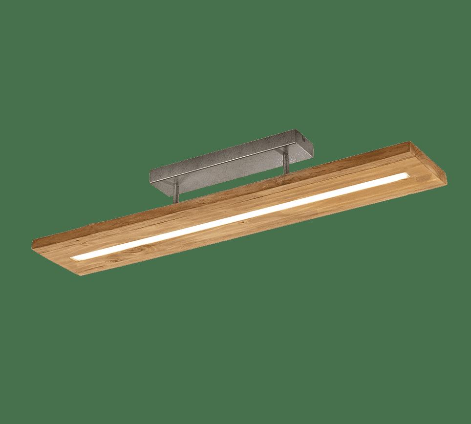 Plafonnier bois SMD LED, 27W · 1x 3000lm, 3000K