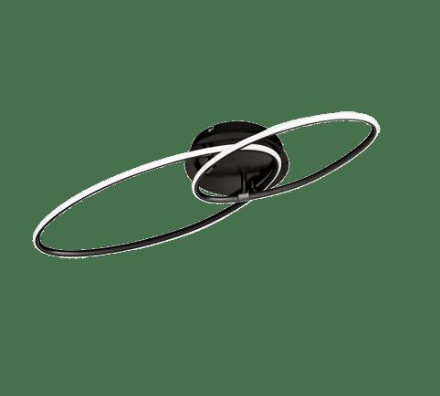 Plafonnier Moderne Métal SMD LED, 35W · 3700lm, 3000K