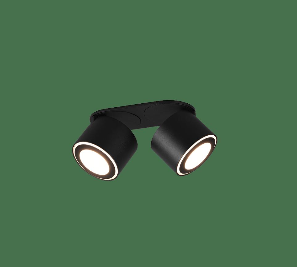 Plafonnier spot 2x SMD LED, 3,5W · 2x 340lm, 3000K incl. 2x SMD LED, 1,5W · 2x 110lm, 3000K TAURUS