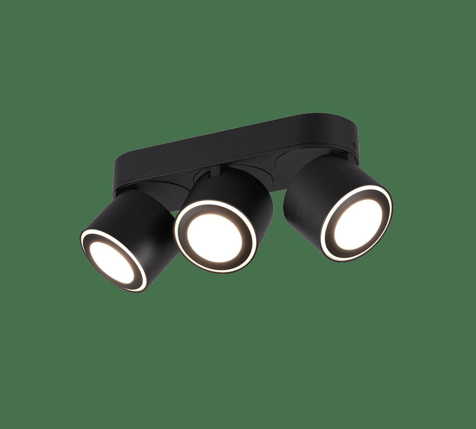 Plafonnier spot SMD LED, 3,5W · 3x 340lm, 3000K 3x SMD LED, 1,5W · 3x 110lm, 3000K TAURUS