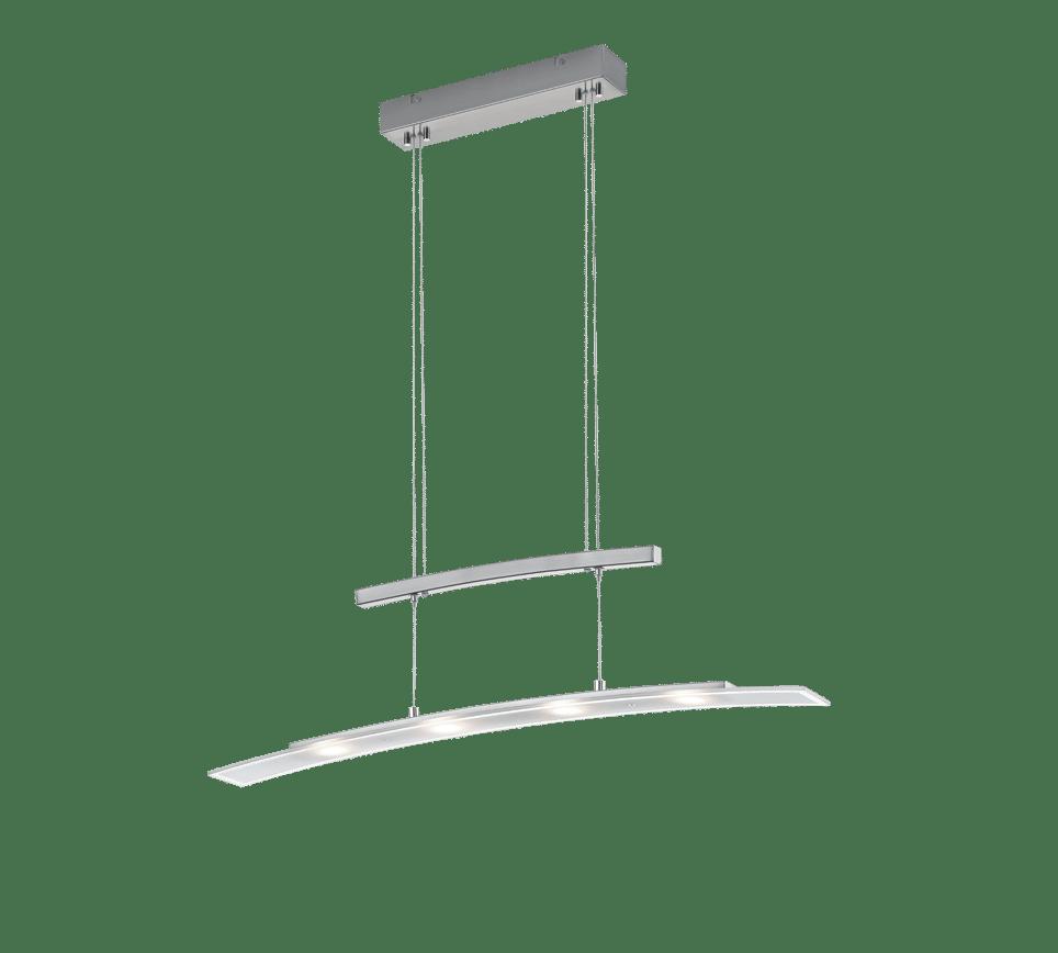 Suspension 4x SMD LED, 4W · 4x 380lm SAMOS