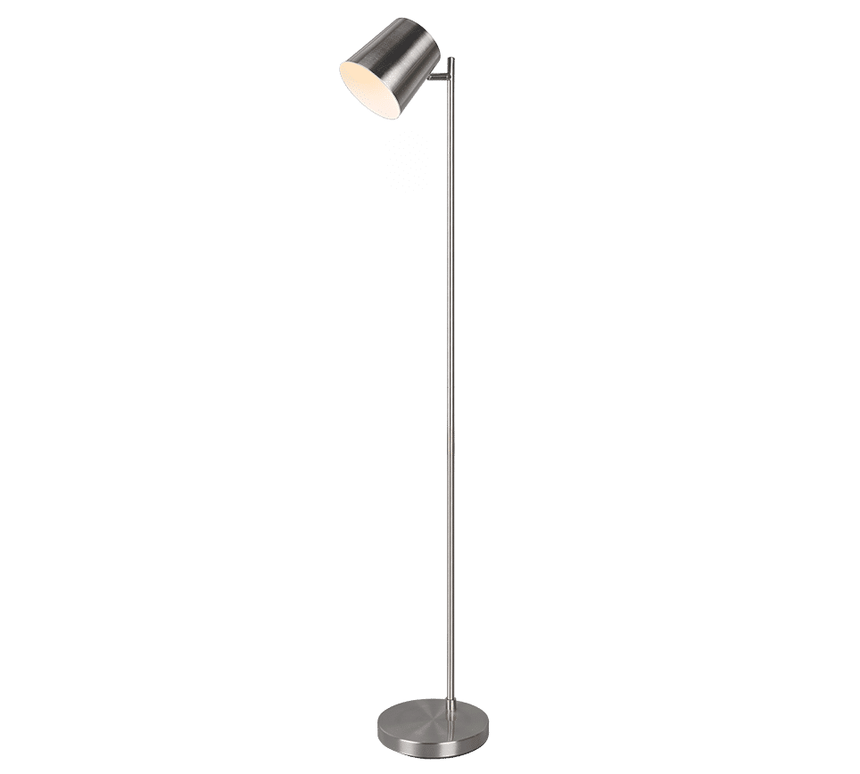 Lampadaire 1x SMD LED, 4,5W · 1x 350lm, 3000K BLAKE ARGENT