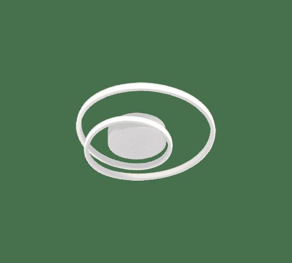 Plafonnier SMD LED, 22W · 1x 2200lm, 3000K ZIBAL