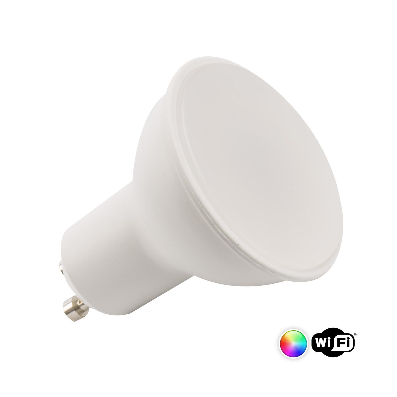 Ampoule LED GU10 Connectée CCT+RGB 5W WIFI