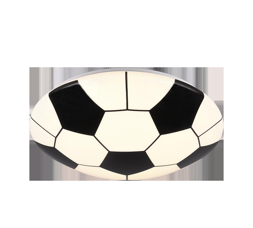 Plafonnier ballon de foot SMD LED, 12W · 1x 1000lm, 3000K