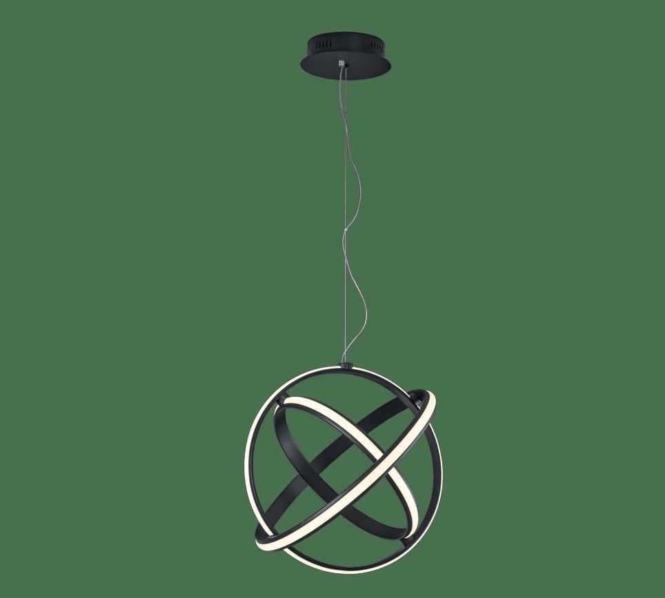 Suspension SMD LED, 45W · 5000lm, 3000K noir anhtracite mat