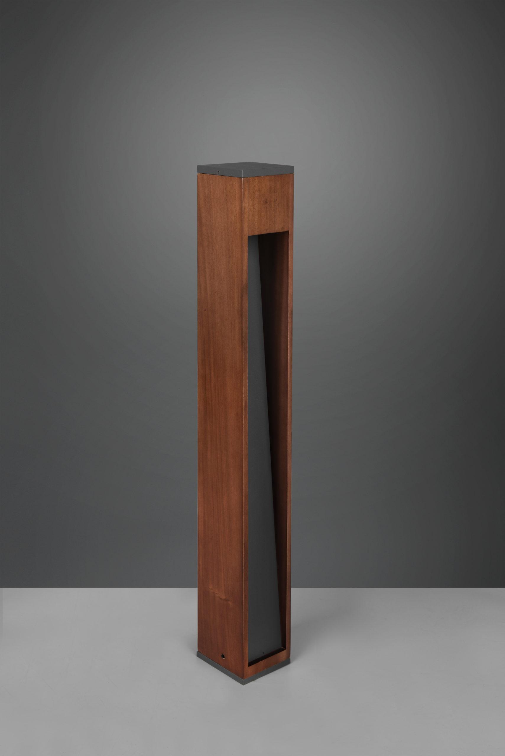 Grand Potelet en bois naturel Design, GU10