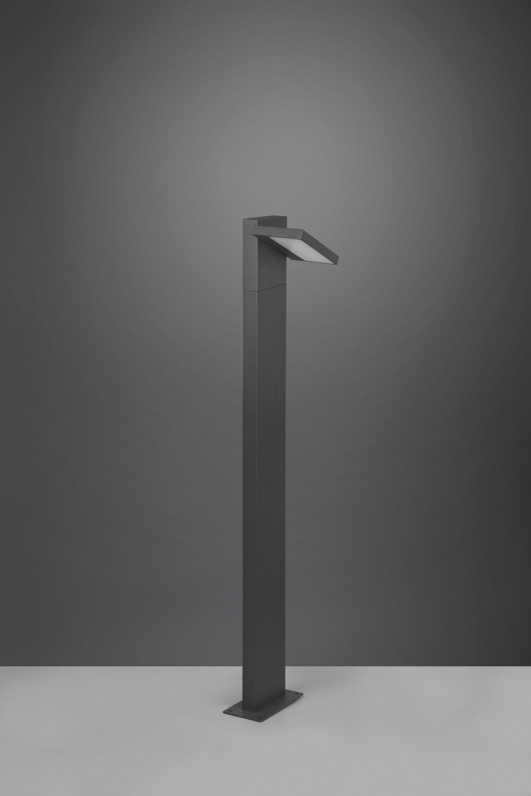 Potelet extérieur orientable, version grande, SMD LED, 8W · 1x 1000lm, 3000K
