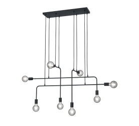 Suspension design moderne noir CONNOR