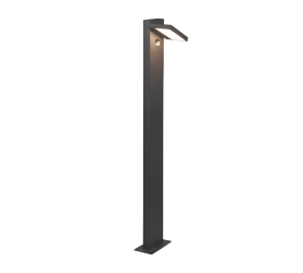 Potelet extérieur orientable, version grande, SMD LED, 8W · 1x 1000lm, 3000K avec détecteur de mouvement