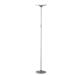 lampadaire led metal vferre