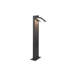 Potelet extérieur orientable, version petit, SMD LED, 8W · 1x 1000lm, 3000K avec détecteur de mouvement
