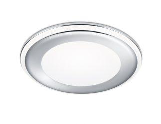 Spot encastré LED avec lumière indirecte – 5/10W – 450/1040lm – 3000K – Chrome