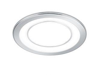 Spot encastré LED – 5/10W – 450/1040lm – 3000K – Chrome