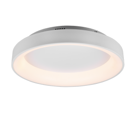 Plafonnier Design rond SMD LED, 48W · 1x 5600lm, 2700 – 6000K Blanc