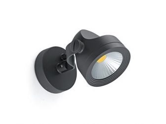 Projecteur 14W LED Gris anthracite Aluminium