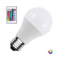 Ampoule LED E27 RGB + White 9W avec télécommande