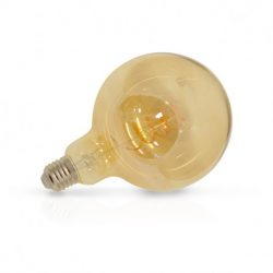 ampoule-led-e27-g125-filament-4w-2700°k-golden