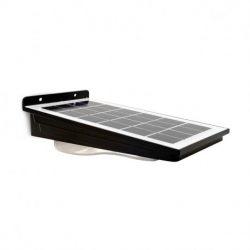 applique-murale-led-solaire-4w-4000°k-noir-détecteur