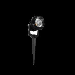 fade-5w-negro Projecteur LED sur Piquet 5W – 3000k – IP65