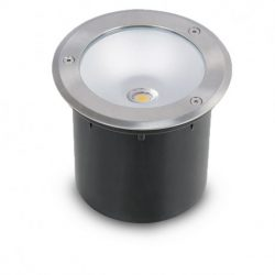 spot-led-encastrable-sol-rond-inox-3w-230v-4500°k-ip65
