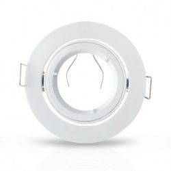 support-plafond-rond-14-de-tour-blanc-ø93-mm
